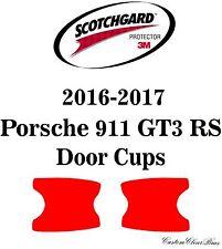 3M Scotchgard Paint Protection Film Clear Bra 2016 2017 Porsche 911 GT3 RS
