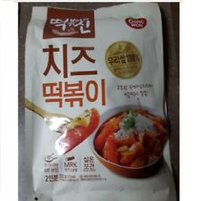 Cheese Tteokbokki wt Sauce Korean Rice Cake Convenience Fd 332g 8 min No Spicy