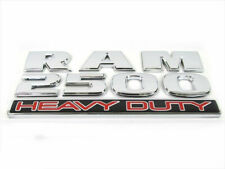 1998-2019 Dodge Ram 2500 HEAVY DUTY Emblem Nameplate NEW MOPAR GENUINE OEM