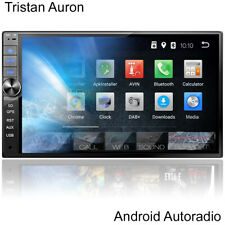 Android Autoradio mit Bildschirm DAB+ Bluetooth Navigation Navi 2 Doppel DIN MP3