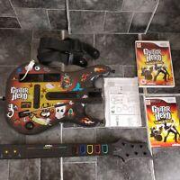 Guitar Hero World Tour Guitar, Strap And Game - Nintendo Wii - PAL