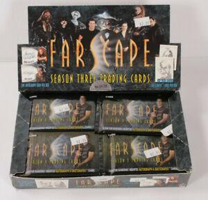 Farscape Season 3 - Trading Card Hobby Box 40 Unopened Packs- Season Three, 2002