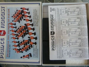 Prince August   Mould no 800  Toy Soldiers on Parade set2