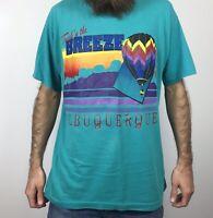 Vintage 90s Albuquerque Balloon Fiesta T Shirt L Large Hot Air Fest New Mexico