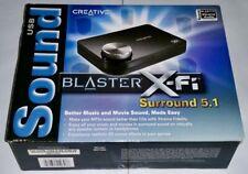 Creative Labs X-Fi SB1090 Surround 5.1 Audio Card USB, Optical Out (MCE) plug-in