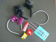 JOB LOT OF 7 X CLAIRES HAIR ACCESSORIES - DRESS UP OR HOLIDAY