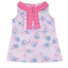 Gardening Bear Printed Dress with Neck Detail #7, Size: 3m (for 0-3 mos)