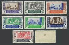 Spanish Morocco 250-256, MNH. Michel 250-256. 1946. Potters, Dyers, Blacksmith.