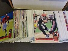 1994 Collectors Choice Complete Football Set #1-384 - Faulk R/C - NFL