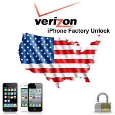 VERIZON Unlock Service Code iPhone 4 5 5C 5S 6 6+ 7 7+ 8 8+ ipad FAST GUARANTEED