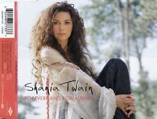 SHANIA TWAIN : FOREVER AND FOR ALWAYS / CD - TOP-ZUSTAND