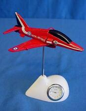 OFFICIAL ROYAL AIR FORCE RED ARROWS MINIATURE CLOCK - IDEAL MEN'S GIFT RAF 162