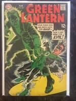 Green Lantern #67, Vol. 2, Silver-Age Comic Book,  VF/VF+, DC, 1969