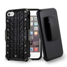 For iPhone 8,7 Armor Hybrid Clip Protector Rugged Case Tire