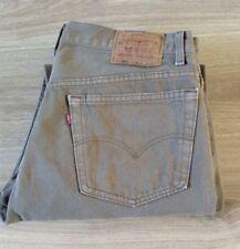 Levi's 501 Jeans Tamaño 38 X 29 Red Tab en muy buena condición ver descripción Hecho en EE. UU.