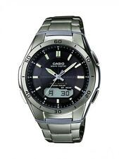 Gents Casio Solar Titanium Watch WVA-M640TD-1AER RRP £190.00 Our Price £124.95
