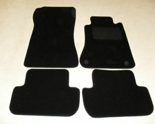 Mercedes CLK 2002-on (C209-A209) Fully Tailored Deluxe Car Mats in Black