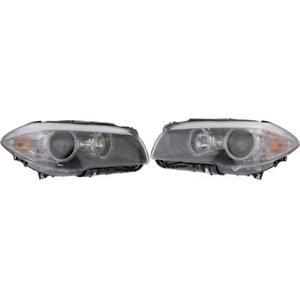 New BM2503174, BM2502174 Headlight Set for BMW 535i 2011-2013