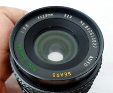 CANON FD MOUNT 28MMF2.8 AUTO MULTICOATED MACRO1:4 WIDE ANGLE LENS MADE BY SEARS!