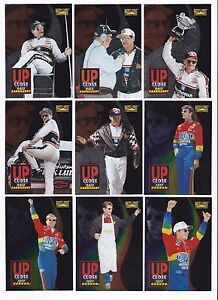 1996 Racer's Choice UP CLOSE #1 Jeff Gordon  SWEET & SCARCE! ONE CARD ONLY!