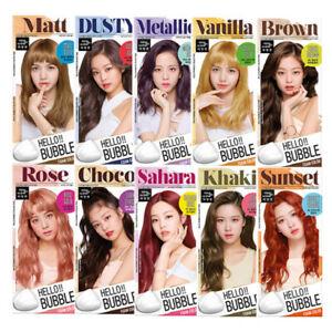 [MISE EN SCENE] Hello Bubble Foamy Creamy Bubble Hair Dye Color Dying Kit NEW