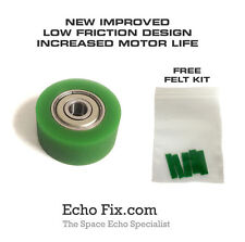 IMPROVED GREEN Space Echo RUBBER ROLLER suits RE-201, RE-301, RE-501 & SRE555