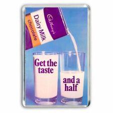 RETRO CADBURY'S CHOCOLATE - GLASS & a HALF BAR  ADD -JUMBO COLOUR Fridge Magnet