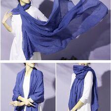 New Ice Silk Cotton Scarf Women Warm Soft Long Tassel Scarf Wrap Shawl scarves