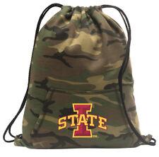 Iowa State Cinch Pack Backpack COOL CAMO Iowa State University Bags