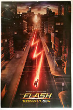 The Flash - Mint Promotional Poster - Rare - Vintage First Season Cw Issue