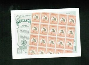 AUSTRALIA 2004 $5. TREASURES** SOUV.SHEET  cat #2284 MNH $7.00+  LOT E137
