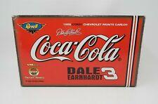 Autographed Nascar 1998 Coca Cola # Dale Earnhardt Revell Monte Carlo 1/24