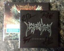 Immolation Atonement  signed Autographed cd plus bonus track