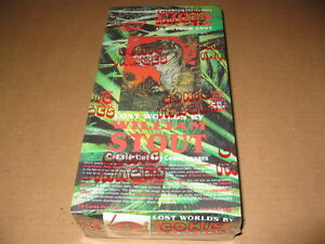 William Stout Lost Worlds Trading Card Box