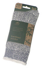 3 PAIRS NEW AUST MADE SZ 6-11 MENS GREY MULL BAMBOO CUSHION FOOT WORK SOCKS