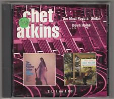 CHET ATKINS - the most populaires guitare / stop and go home CD