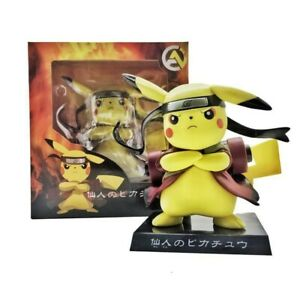 Pokemon Pikachu Naruto Cosplay Pikuto PVC Figure