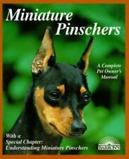 Miniature Pinschers (Complete Pet Owner's Manuals) by D. Caroline Coile