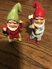 Vintage Set Of Gnomes! Japan