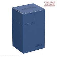 Ultimate Guard FLIP'n'TRAY XENOSKIN™ DECK CASE 80+ BLUE
