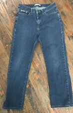 Lee Natural Straight Leg Just Below the Waist Jeans, size 10 MEDIUM IDTSGD5