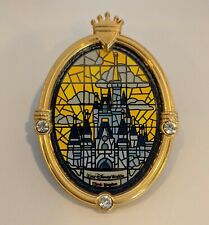 Disney World Cinderella Castle Stained Glass Window Wdw 38452