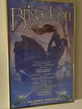 More details for brigadoon - broadway poster - john curry cast