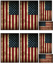 1/16 scale WW2 American flags on 100% cotton canvas.model/diorama military set 2