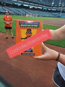 202 Bird Mascot HOF Bobblehead Baltimore Orioles SGA August Presale.