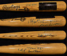 500 HOME RUN CLUB SIGNED BAT 9 SIG AUTO PSA/DNA AARON MAYS BANKS ROBINSON HR COA