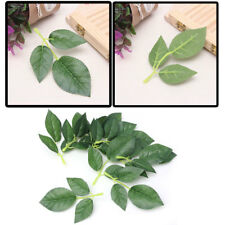 Artificial Silk Rose Leaf Leaves for Wedding Decoration DIY Scrapbooking Craft