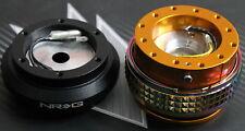 NRG STEERING WHEEL QUICK RELEASE HUB 2.1 GOLD-NEO HONDA 88-91 CIVIC CRX EF