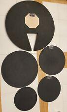 Sound Off 5 Piece Silencers Mute Pads Set 22�, 15.5�, 14�, 12�, 10�
