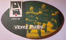 Sous Bock Biere Heineken - rugby